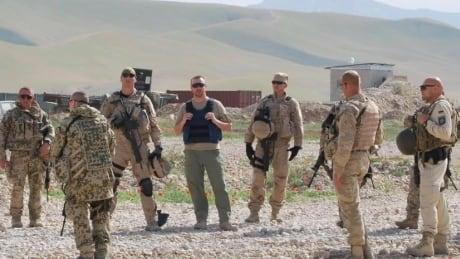 Brian McKenna in Afghanistan