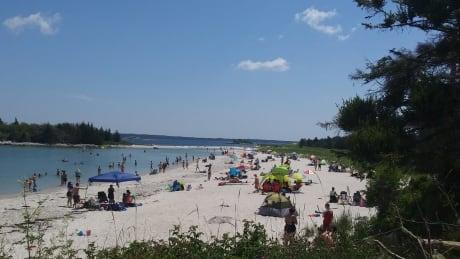 Busy Carters Beach