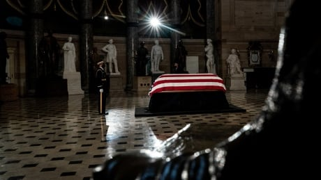 Justice Ruth Bader Ginsburg lying in state at the U.S. Capitol
