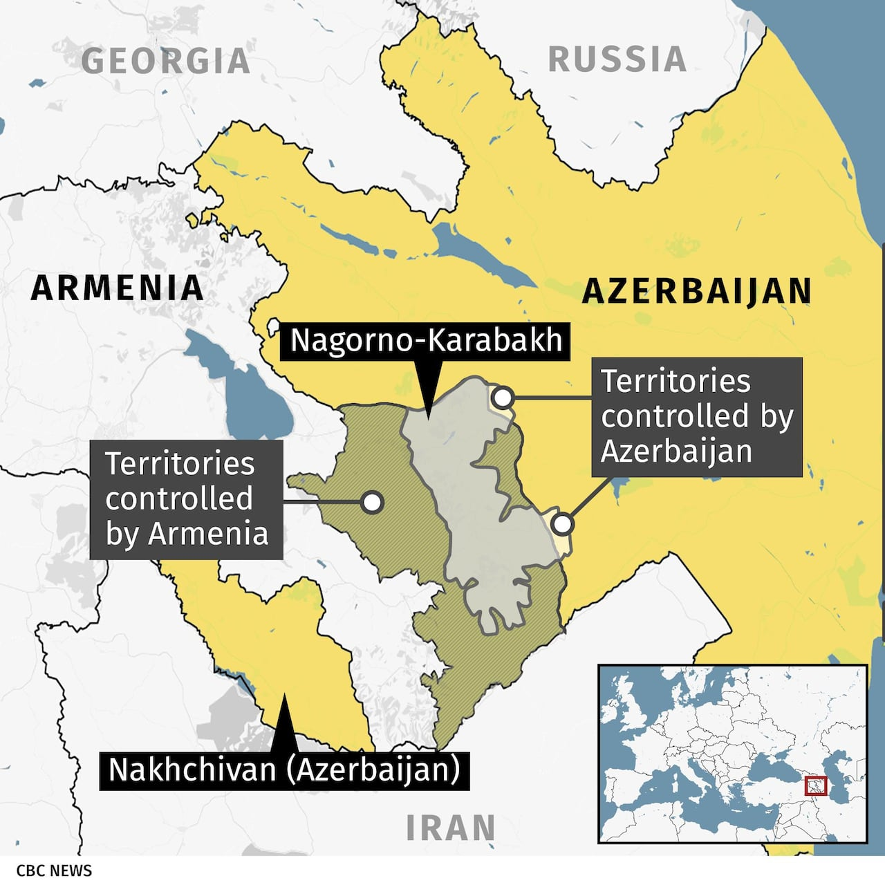 Azerbaijan And Ethnic Armenian Forces Fight New Clashes As International Tension Mounts Cbc News