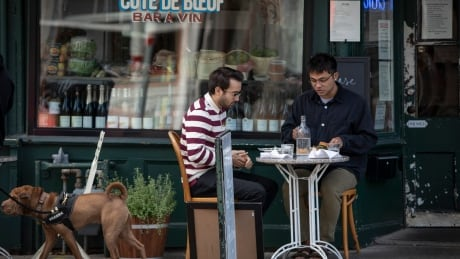 Restaurant patrons on Patio, Toronto