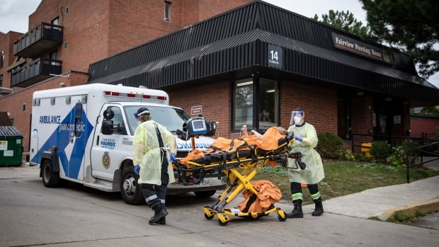 Toronto long-term care home grappling with outbreak reports 42 active COVID-19 cases, including 1 death | CBC News