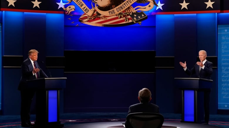 First U S Presidential Debate Not A Very Good Night For U S Cbc News