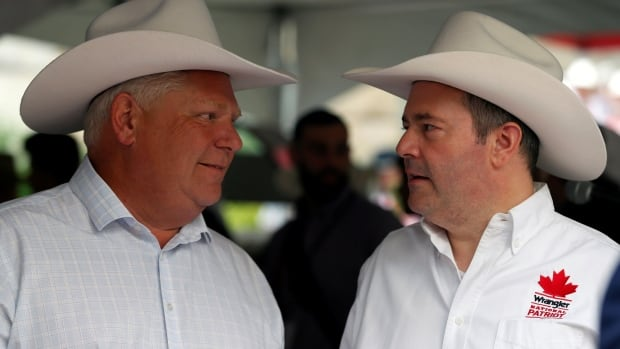 Ontario, Alberta face a growing split as economic interests diverge over fossil fuels