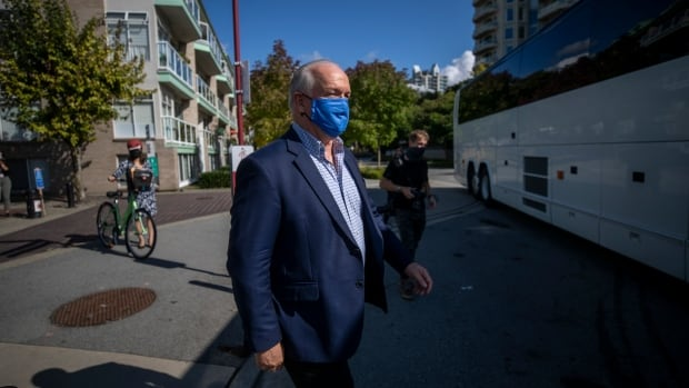B.C. NDP leader promises free COVID-19 vaccine during town hall