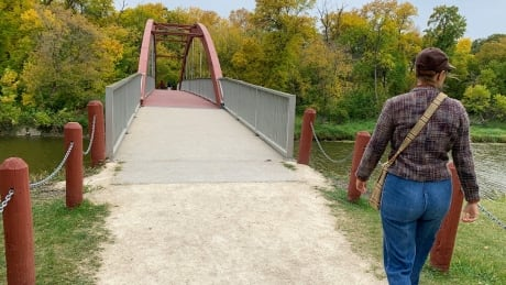 Active transportation trails in Manitoba