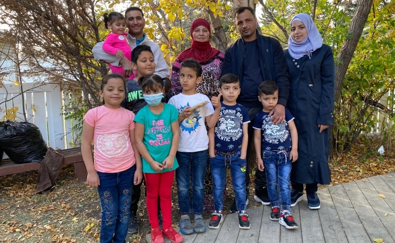 Syrian refugees finish quarantine in time for first Canadian Thanksgiving