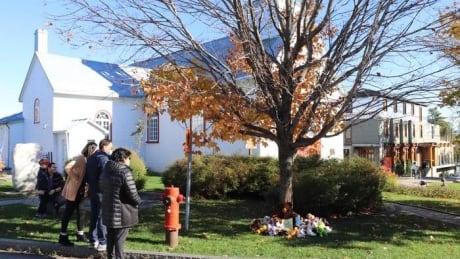 Memorial for Wendake boys