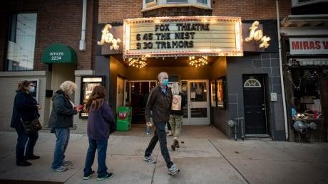 Fox Theatre toronto indie cinema covid coronavirus