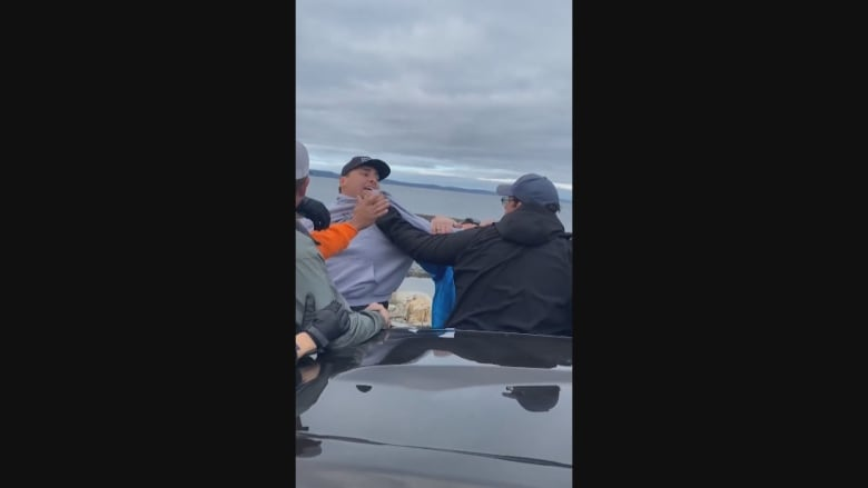 Commercial fishers hold rally in southwest, N.S.