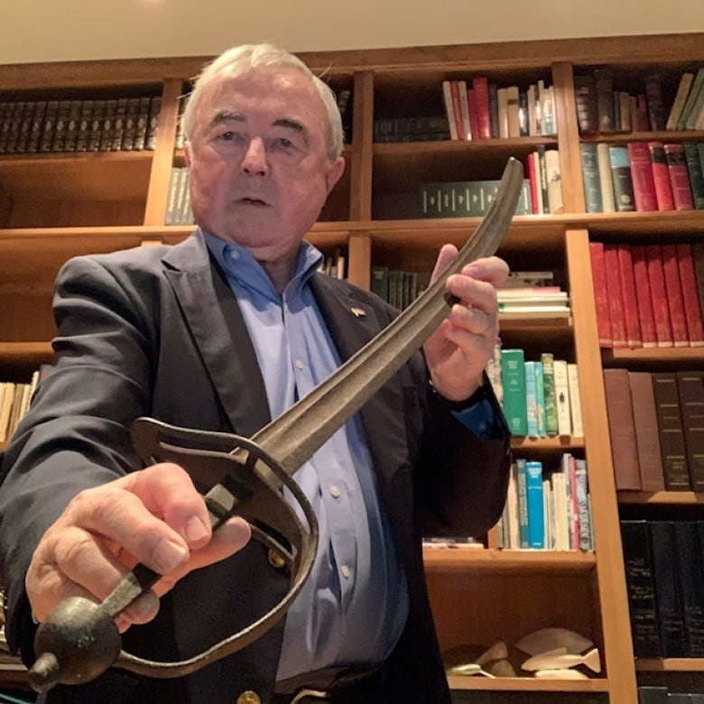 After 191 years, historic sabre returned to family, thanks in part…