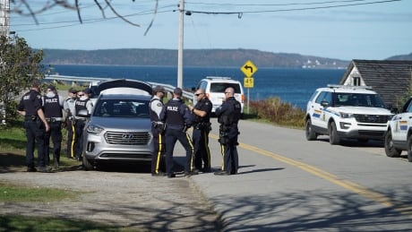Lobster pound and RCMP