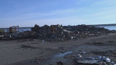 Destroyed facility in Middle West Pubnico