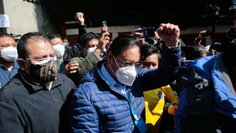 Bolivian socialist candidate set to win election outright, rapid count shows