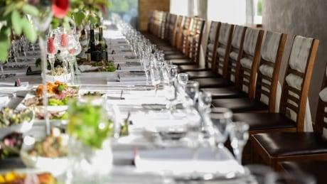 Wedding banquet reception celebration