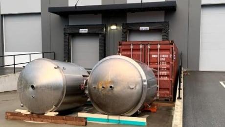 Fermenting tanks Boardwalk Brewery