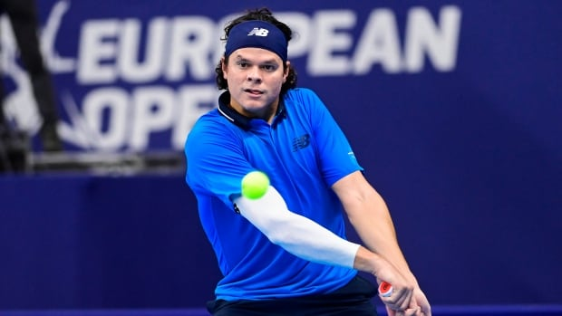 Raonic defeats Bedene, advances to 2nd round at European Open