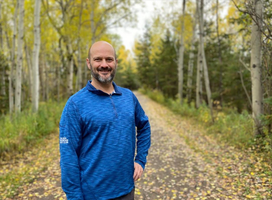How This Sudbury Man Is Honouring His Friend By Running Cbc News