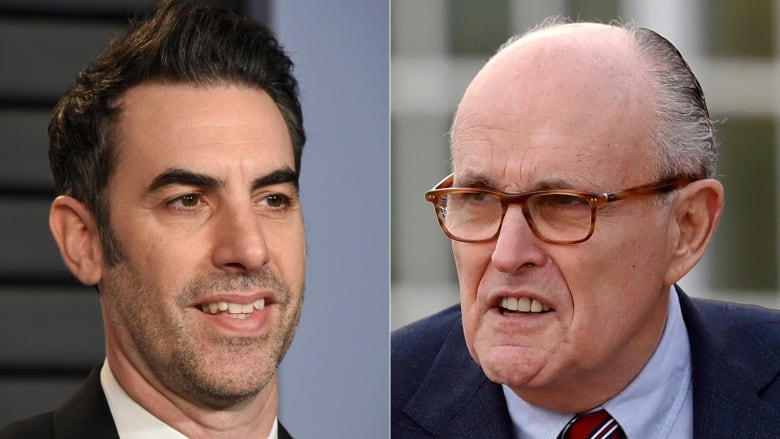 Borat 2 Busts Rudy Giuliani in a Very Compromising Scene
