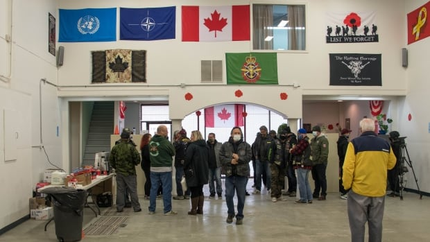 New food bank for military veterans opens in Edmonton | CBC News