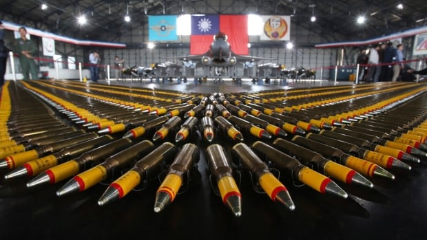 China angered by U.S. arms sales to Taiwan, threatens sanctions