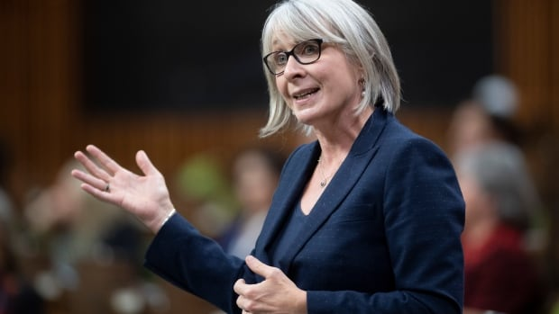 Health Minister Patty Hajdu spotted without a mask at Pearson airport thumbnail