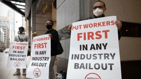 hospitality worker protest