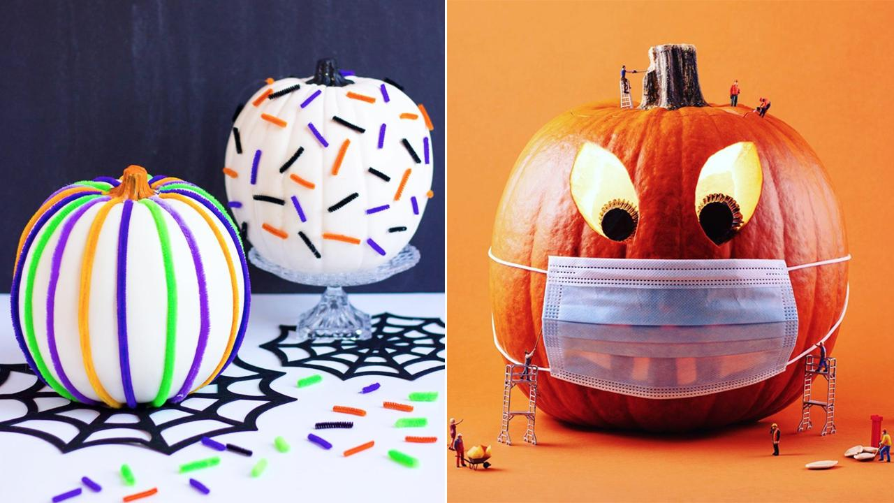 21 Inspired Halloween Jack O Lantern And Pretty Pumpkin Ideas Cbc Life