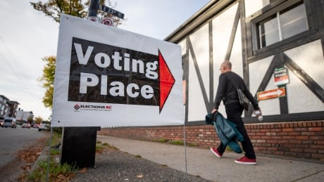 BC ELECTION POLLING STATION
