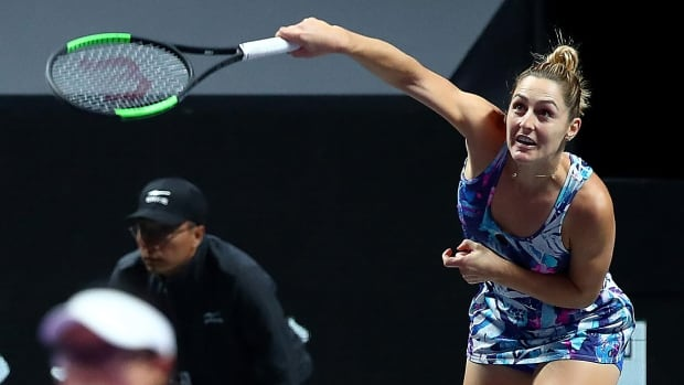 Canada's Dabrowski, partner Luisa Stefani lose Ostrava final in 1 hour