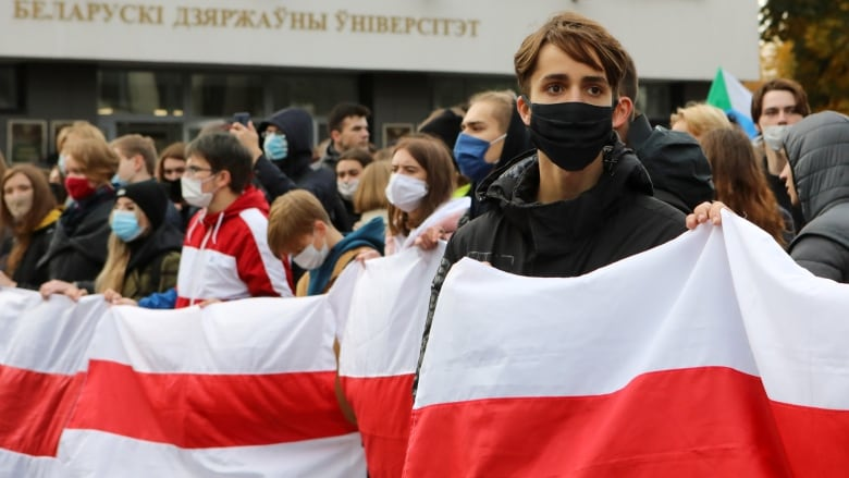 Belarus opposition leads national strike against Lukashenko