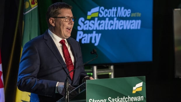 Saskatchewan election delivers historic win for Sask. Party, decisive defeat for NDP | CBC News