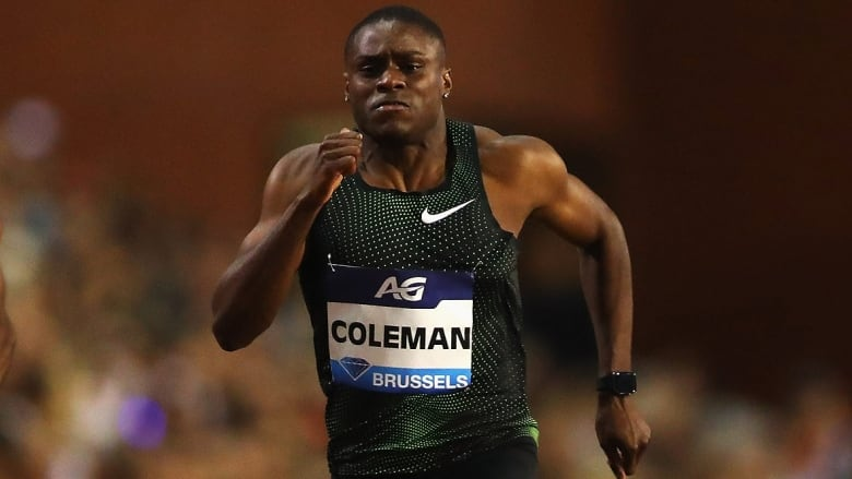 World 100m champion Coleman banned for Tokyo Olympics