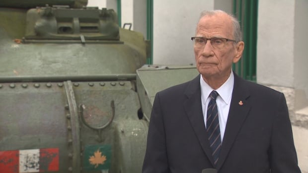 Vancouver Remembrance Day organizer and former CBC broadcaster Cam Cathcart has died   CBC News
