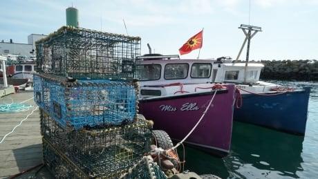 Saulnierville Wharf Oct 22 mi'kmaw fishery nova scotia