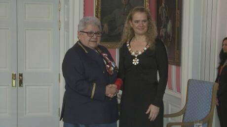 Former Chief Marie-Anne Daywalker-Pelletier