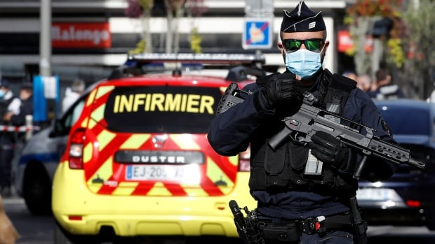 3 dead in knife attack at church in Nice, France   CBC News