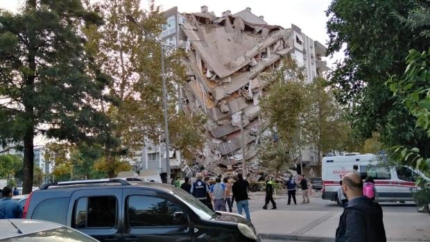 At least 4 killed as 7.0 magnitude quake in Aegean Sea shakes Turkish coast, Greek island of Samos