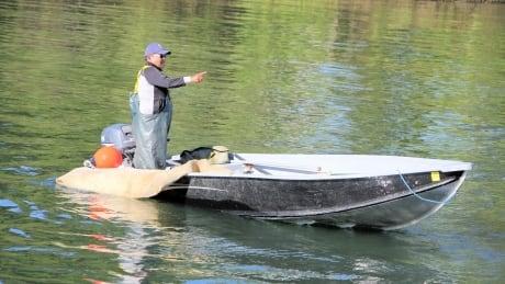 Luke George fishing