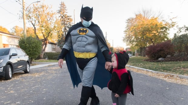 Don't fear trick-or-treating this Halloween — but do take precautions | CBC News