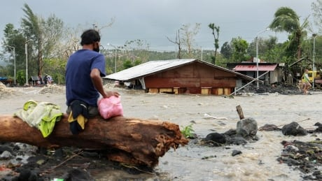 Super-typhoon weakens after slamming into Philippines; at least 10 dead