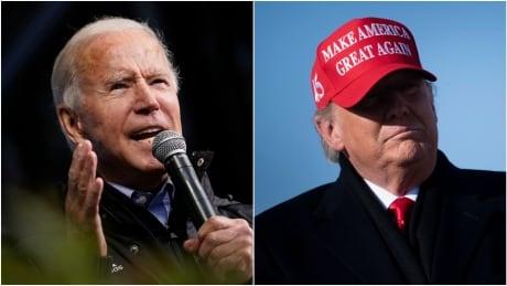Biden Trump composite