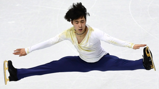 Boyang Jin defends Cup of China figure skating title