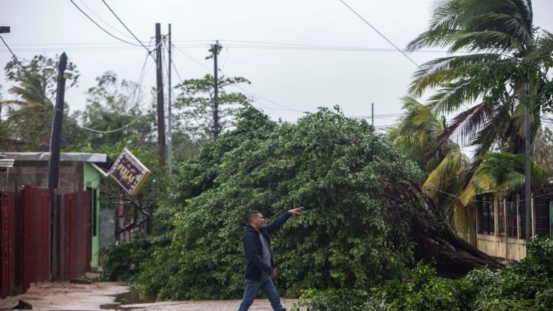 Eta makes landfall as a Category 4, may eventually threaten Florida