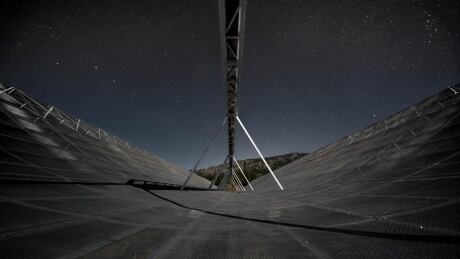 CHIME telescope nighttime