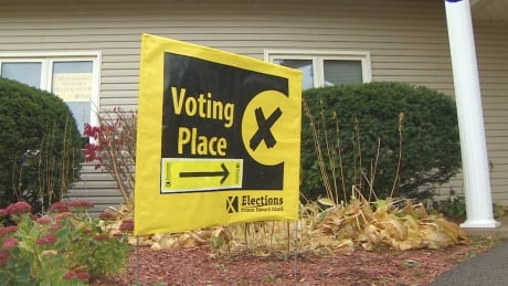 Voting Place Elections PEI