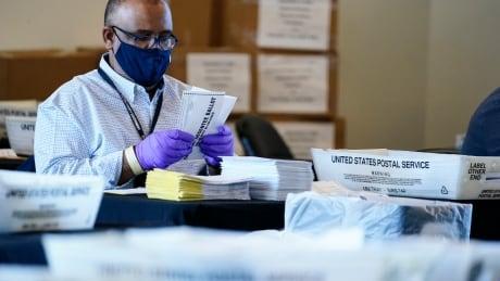 Election 2020 Georgia Vote Counting