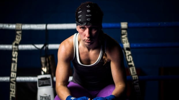 Canadian boxer Mandy Bujold turns to technology in absence of sparring