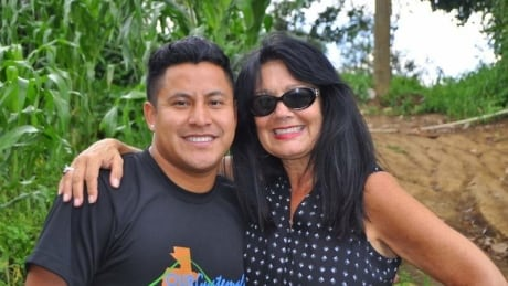 Alex and his mother, Leceta Chisholm Guibault, have returned to Guatemala several times.