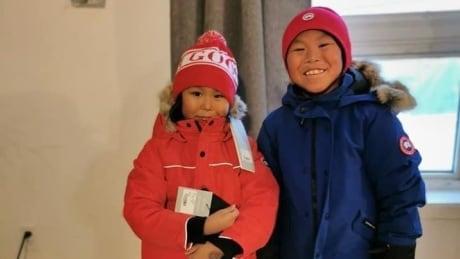 Arctic Bay children